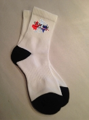 Crew Sock with Sublimated Logo