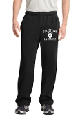 Open Bottom Pocketed Sweatpants